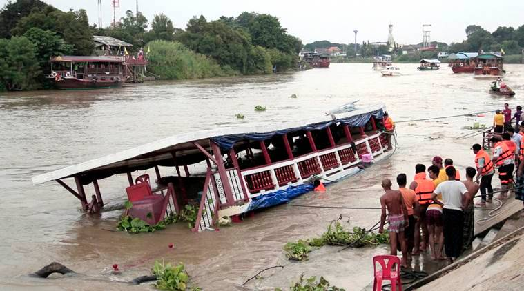 Thailand, Thailand boat accident, Thai boat capsize, migrant boat capsize, boat accident, boat capsize, Malay Muslim migrants, Thailand news, world news, latest news, Indian express
