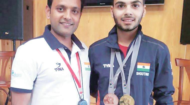arjun babuta, ISSF Junior World Cup, shooting junior world cup, shooting world cup, india shooters, sports news, chandigarh news