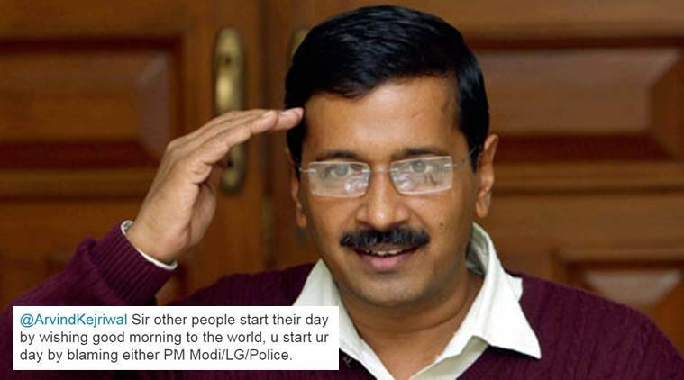 Delhi Chief Minister tweeted a cartoon and Twitterati responds with their own version