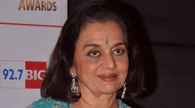 Asha Parekh, Asha Parekh birthday, Asha Parekh 74th birthday, Asha Parekh birth date, Asha Parekh birthday wish, Asha Parekh birthday october 2, Entertainment, indian express, indian express news