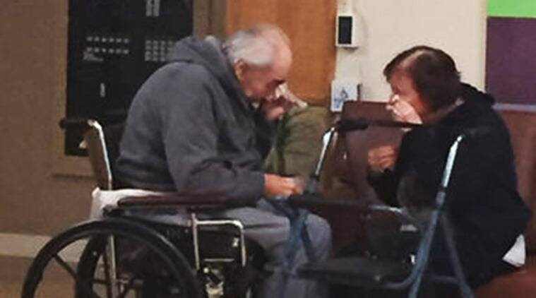 Elderly couple who broke hearts moved to same home