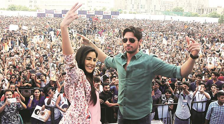 baar baar dekho, katrina kaif, sidharth malhotra, baar baar dekho promotion, promnotion of baar baar dekho, nitya mehra, devutant director, director nitya mehra, characters in baar baar dekho, baar baar dekho release, indian express news, entertainment news