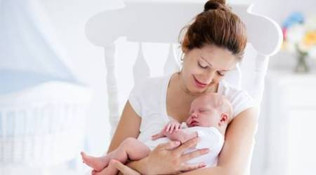 eczema, eczema in babies, mother's high vitamin b may cut eczema risk in babies, eczema risk in babies, babies eczema, health news, babies health, indian express