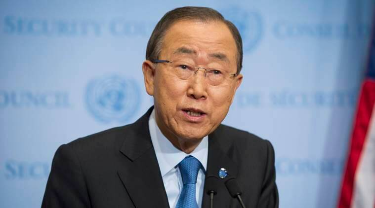 Ban Ki-moon, Ban Ki moon, united nations, pollutions, environmental pollution, greenhouse gas,  air polltuion, hydrofluorocarbons, HFCs, world news