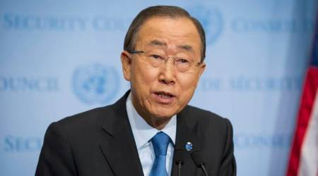 UN chief Ban Ki-Moon concerned about political situation inMaldives