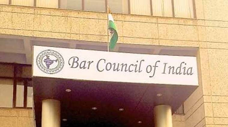Bar Council of India, Bar Council of India rejects 266th report of the Law Commission, BCI Secretary Srimanto Sen, Bar Associations of Delhi, indian express news