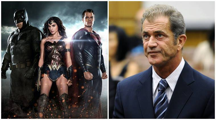Batman v Superman, Batman v Superman movie, Batman v Superman dawn of justice, mel gibson, entertainment, indian express, indian express news