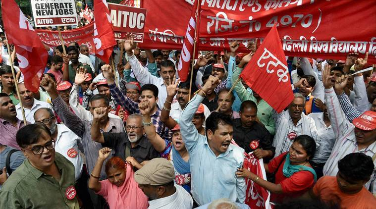 strike and bandh Bharat bandh: all you need to know about the trade unions strike - the nationwide one day strike according to the trade unions is supposed to be the biggest strike ever in the country this protest is a strike against the anti-worker economic policies of the government.
