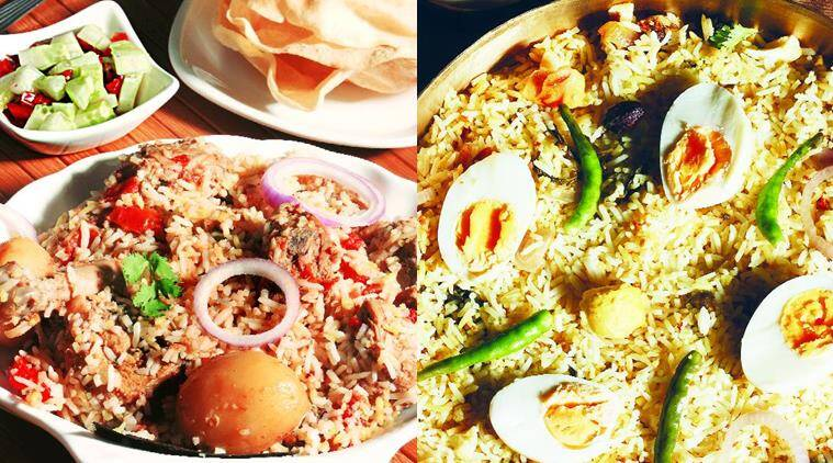 A meaty role: The Kolkata biryani substitutes some of the meat with potatoes and eggs.