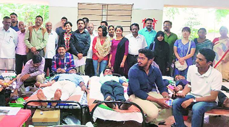 pune, pune news, blood donation camp pune Bakr Eid, id blood donation camp pune, Muslim Satyashodhak Mandal in association pune, Maharashtra Andhashraddha Nirmulan Samiti pune, indian express, india news