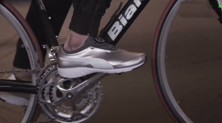 BMW running shoes, BMW car model running shoes, BMW running shoes launch, BMW fitness shoes launch, Indian express, indian express news