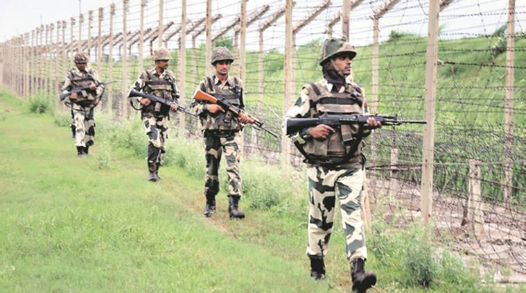 Indo-Pak border, International borders, ceasefire violation, Pakistani troops, Indian Army, POK, LOC, Indian army on ceasefire violation, Jammu and Kashmir situation, Rajouri district Jammu, indian express news
