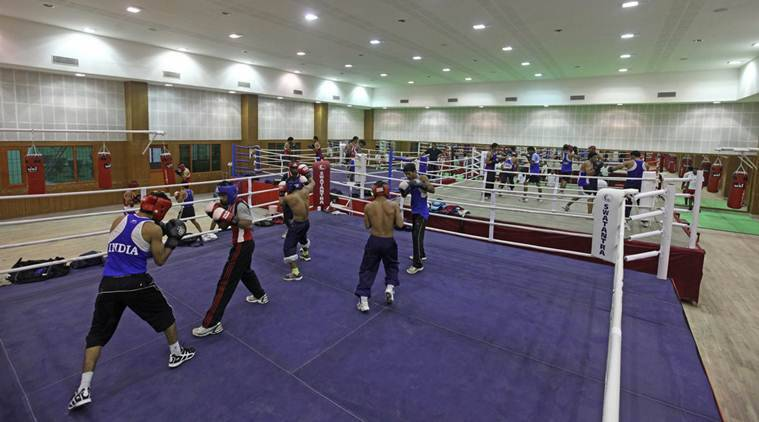 Newly opened Boxing Hall at NIS in Patiala