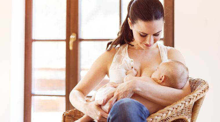 Research Shows Breastfeeding Protects Mothers From Cancer Heart Attacks Lifestyle News The Indian Express