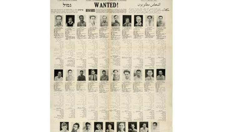 This a  declassified  document released by the British Security Service made available Wednesday Sept. 28, 2016. UK opened secret files about 'Jewish terrorists' in 1940s.  The newly declassified British security services files document repeated attacks by 'Jewish terrorists' trying to drive British forces out of Palestine in the drive toward establishing a Jewish state. The files show how British agents tried to contain the threat of militant activities and keep the groups from launching attacks in Europe and Britain.(The National Archive via AP)