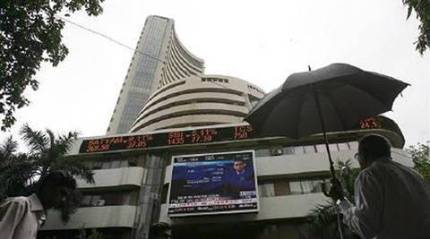 Sensex slips 94 points post RIL earnings