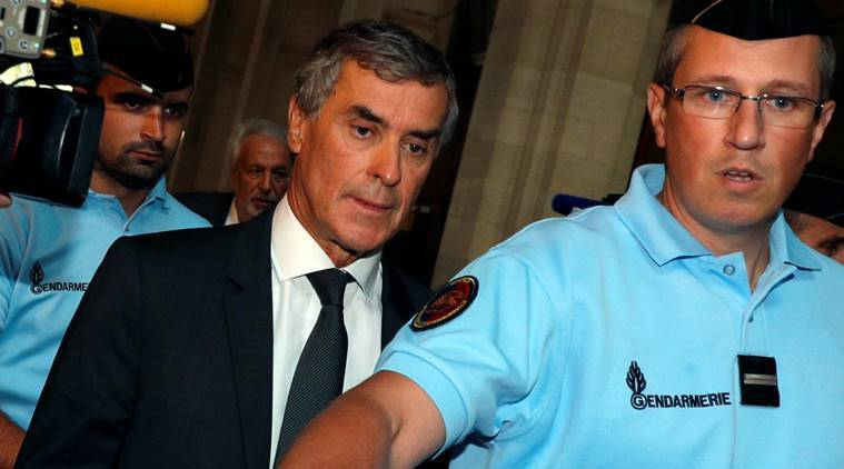 France, French financial prosecutor, Jerome Cahuzac, three-year jail term, jail term, former budget minister, Swiss bank account, secret bank account, bank account, Secret account, world news, indian express