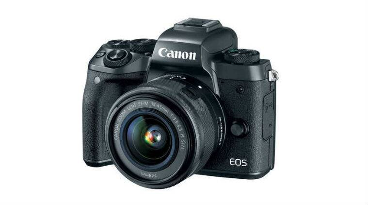 Canon, Canon EOS M5, Canon EOS M series, canon M series, Canon EOS m5 specs, Canon EOS m5 price, Canon EOS M5 launch, Canon EOS camera, DSLR camera, india, technology, technology news, indian express
