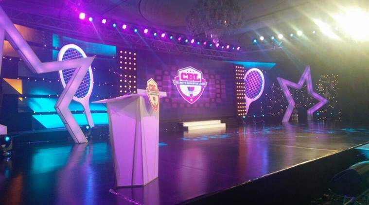 Celebrity Badminton League, Celebrity Badminton League launched, Celebrity Badminton League launched in chennai, Celebrity Badminton League launched in karnataka, Celebrity Badminton League season 1, Celebrity Badminton League first season, Entertainment, indian express, indian express news