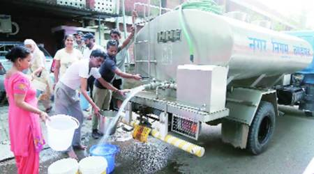 Chandigarh water crisis: 38 tankers supply water on Day I