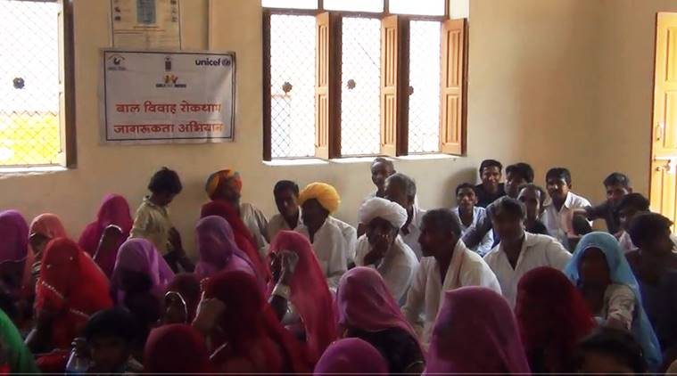 Rajasthan, child marriages, child marriages in Rajasthan, child marriages in India, marriages in India, child brides, child brides in India, child marriage act, child marriage law, gender in India, Indian Express