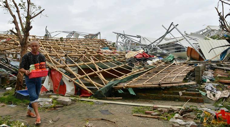 Typhoon Meranti killed at least 15 in China and Taiwan