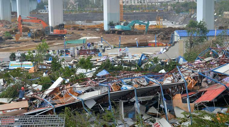 China, China typhoon, China rains, Meranti, Malakas, China typhoon news, China rains news, China news, world news, latest news, Indian express
