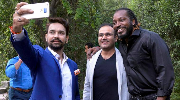 Launch of Gayle's autobiography