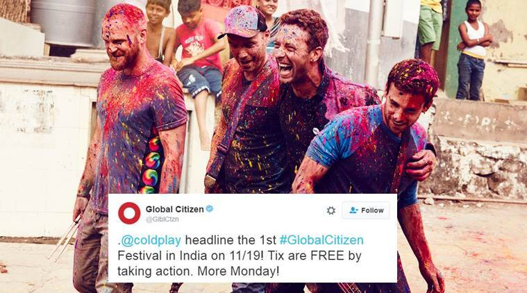 Coldplay is playing in India on November 19 and here's how you can get the tickets