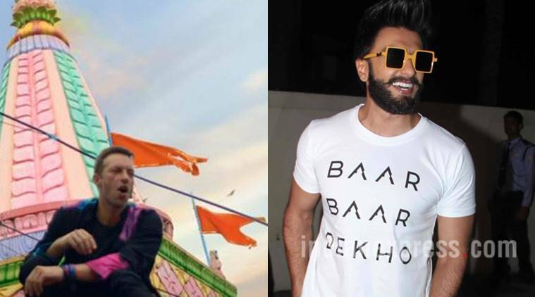 ranveer singh, coldplay, colplay india, ranveer singh coldplay india