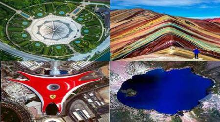 daily overview Instagram, Overview book, Satellite images of earth, aerial shots of our planet, world from above, earth from the skies