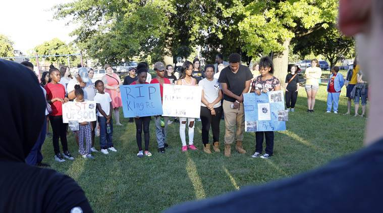 VIgil Held For Teen Killed By Columbus Police