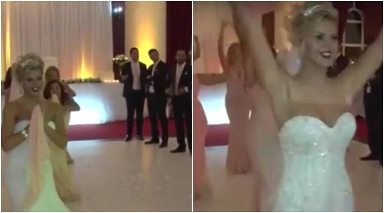 UK couple dancing to Bollywood songs, foreigners dancing to Indian music, people in UK dancing to Bole Chudiyan, Karan Johar's films popularality in West