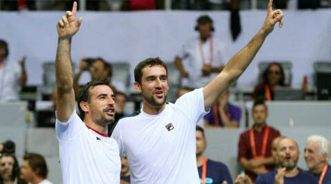 Croatia take 2-1 lead over France in Davis Cup