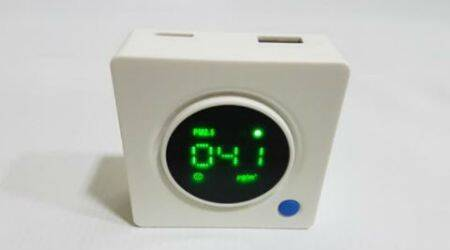 Crusaders, Crusaders PM 2.5 air quality monitor, Crusaders india, Air quality monitor, air quality monitor india, india, Crusaders PM 2.5 air quality monitor price india, technology news, indian express
