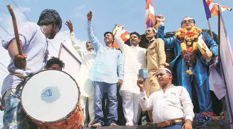 Dalit atrocities, Dalit gujarat, Dalit ahmedabad, Dalit protests, Dalit Una Pratirodh Samiti, Dalit dharna, Dalit Una, Gujarat News, India news