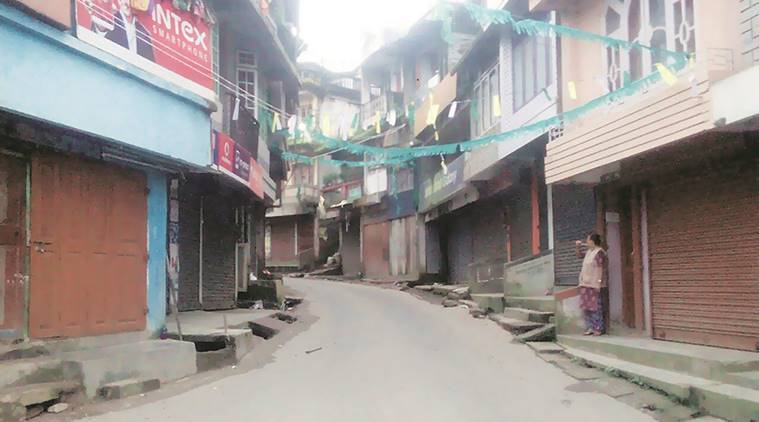 Darjeeling, Darjeeling bandh, darjeeling shut, mamta banerjee, bengal government, darjeeling strike, GJM,  gorkha mukti morcha,Trinamool Congress,  GJM TMC,  Calcutta High Court, West Bengal News, Latest news, India news, indian express news, MLA sarita rai, sarita rai arrest, GJM arrest, bimal gurung, darjeeling closed