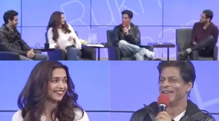 Deepika Padukone, Shah Rukh Khan, Deepika srk, Deepika Padukone video, Deepika srk film, Deepika srk happy new year, Deepika srk fun video