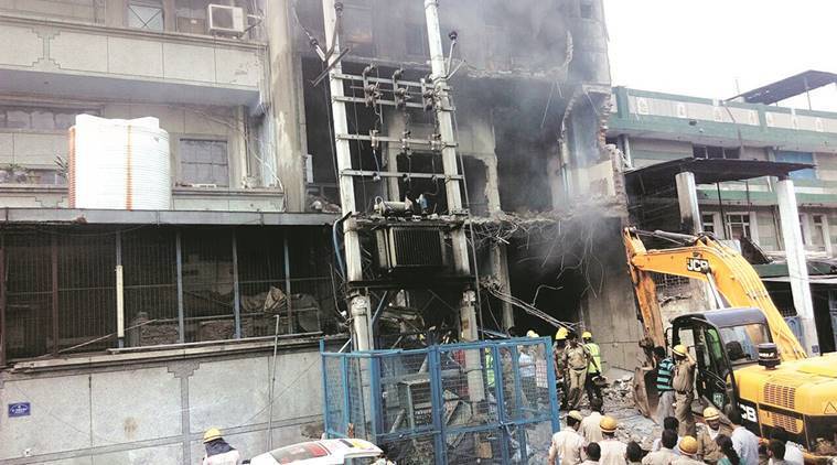 narela fire, fire, narela factory file, Narela delhi, Delhi factory fire, fire in narela factory, rescue operation, narela rescue, delhi fire, fire in delhi, indian express news, india news, delhi, delhi news