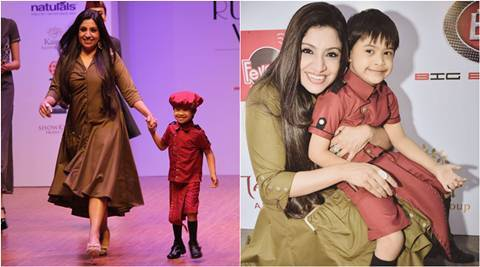 India Runway Week 5 Year Old Battling Down Syndrome Turns Showstopper For Designer Varija Bajaj Lifestyle News The Indian Express