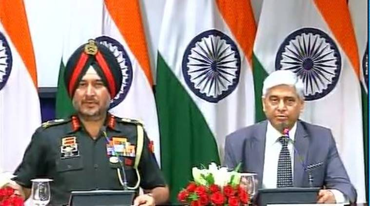 Surgical strikes, LoC, surgical strikes along LoC, Indian Army, all-party meeting, DGMO Ranbir Singh, India news, latest news, Indian express
