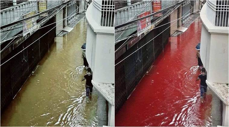 Streets of Dhaka were indeed red on the day of Eid