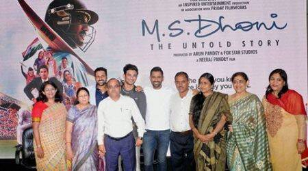 MS Dhoni, MS Dhoni The Untold Story, Dhoni movie, Dhoni movie review, Dhoni movie, Dhoni review, sports, sports news, movies, movie news, bollywood
