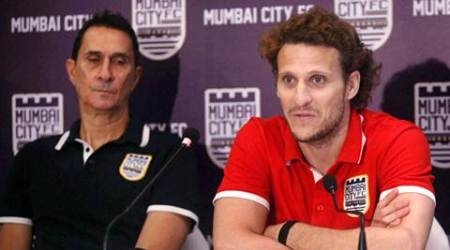 Diego Forlan embarks on India sojourn