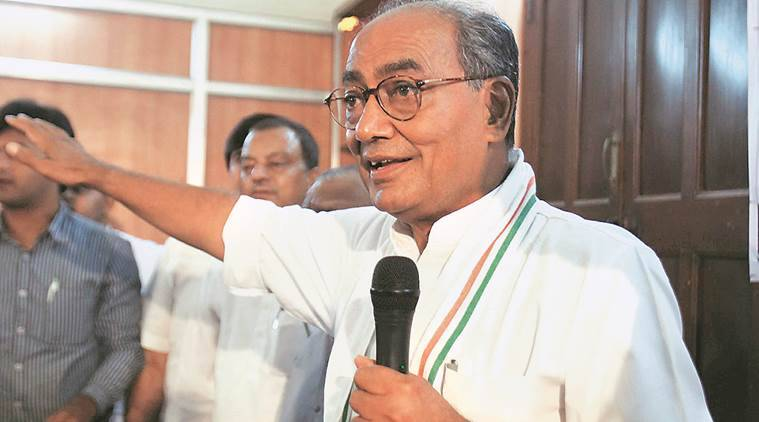 Digvijaya Singh, Congress, Bipin rawat, Kashmir, majr Gogoi, randeep Surjewala, Jammu and kashmir, stone pelting, Triple talaq, Dogvijaya singh interview, india news, indian express news