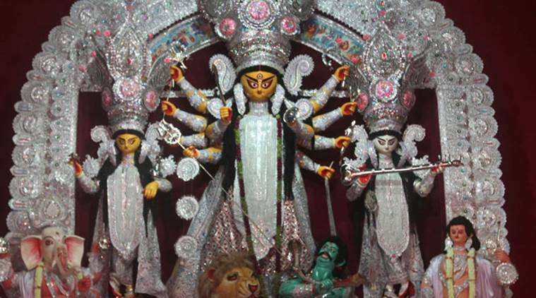 Durga Puja, Durga puja pandals, pujo, paris themed durga pandal, news, India news, latest news, arts, culture, national news, Durga