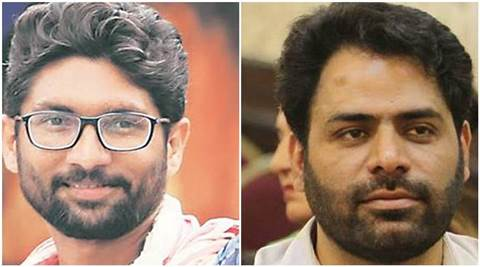 Khurram Parvez, jignesh mevani, Kashmir, Delhi protest, kashmir delhi protest, parvez, kashmir activist arrest, news, latest news, Delhi news, India news, national news