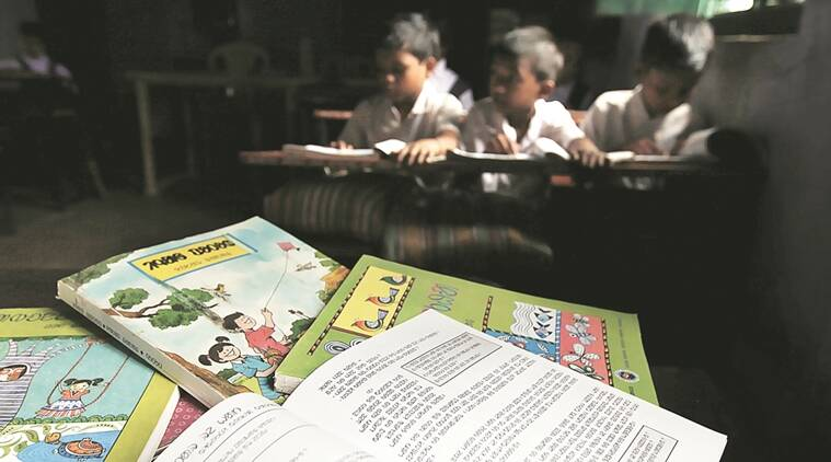 maharashtra tribal schools, maharashtra government, maharashtra tribal education scam, fraud names, students on paper, jalgaon school, jalgaon school scam, student verification, student rolls verification, roll number verification, government fund, bogus entries, bogus entries detected, aadhar registration drive, aadhar card registration, indian express news, india news