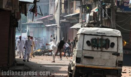 Kashmir: Protests hit Valley as curfew bars locals from celebrating Eid