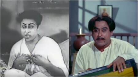 Did you know Padosan's 'Ek Chatur Naar' was first sung by Ashok Kumar in Jhoola, watch rare video
